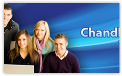 chandler math tutoring banner design