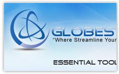 globestream banner design