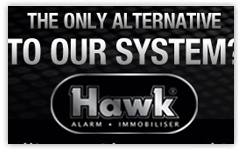 hawk alarm banner design