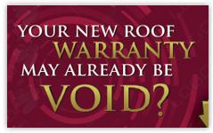 warranty banner design