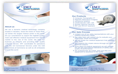 imt international brochure design