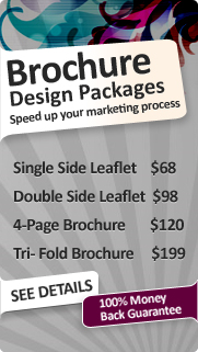 Brochure Design Packages