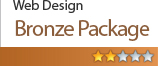 Website Design Bronze Package $265