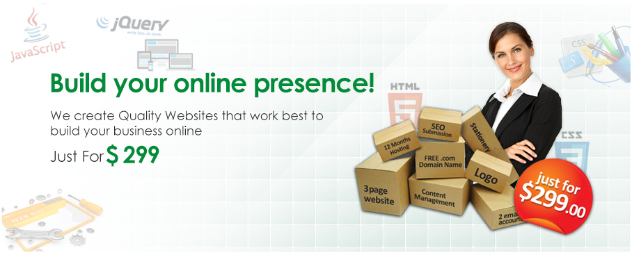 Build your online presence
