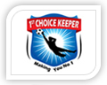 1st choice keeper logo design