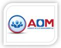 aom logo design