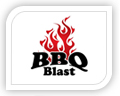We created this logo for bbq blast
