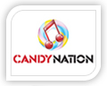 candy nation logo design