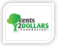 We created this logo for cents 2 dollars