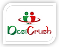 desi crush logo design