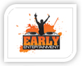 We created this logo for early entertainment