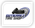 gutierrez tire shop logo design