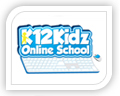 We created this logo for k12 kidz online school