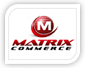 matrix commerce logo design