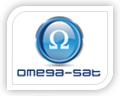 omega-sat logo design