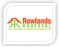 rowland roofseal logo design