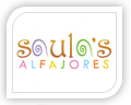 We created this logo for saulas alfajores