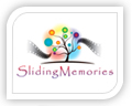 sliding memories logo design