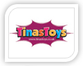tinas toy logo design