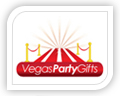 vegas party gifts logo design