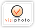 visi photo logo design