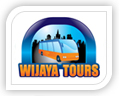 wijaya tours logo design